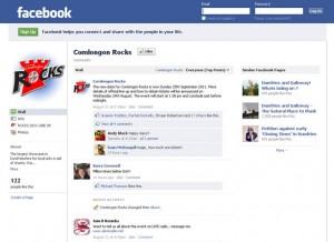 comlongon rocks facebook page
