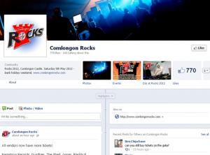 comlongon rocks 2012