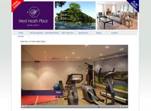 london apartments video tour - west heath place