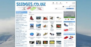 sledges new prestashop website