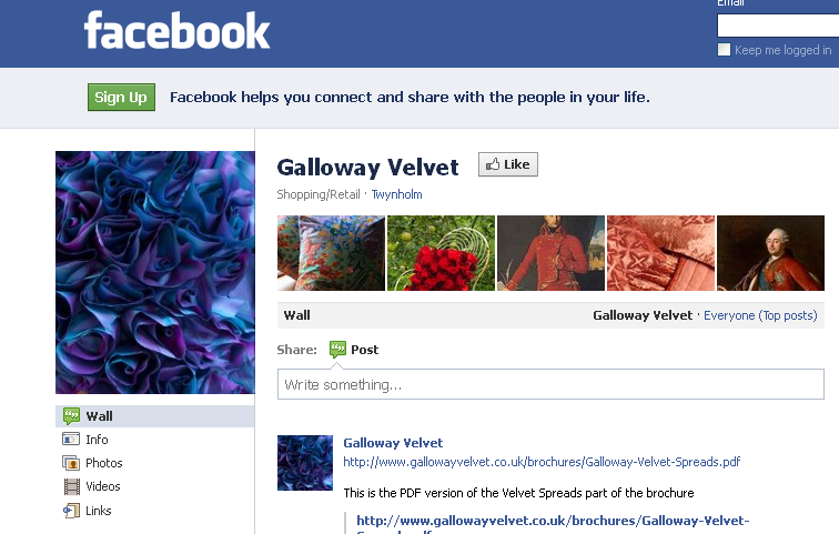 Galloway Velvet - Shopping-Retail - Twynholm, United Kingdom - Facebook_1328694868278