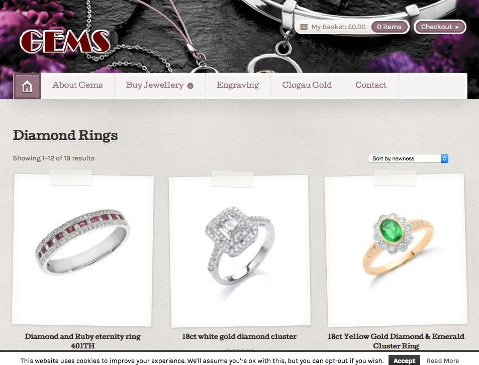 Gems Jewellers in Dumfries