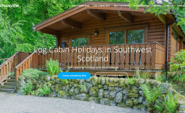 Log Cabin holiday accommodation